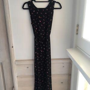 Floral maxi dress